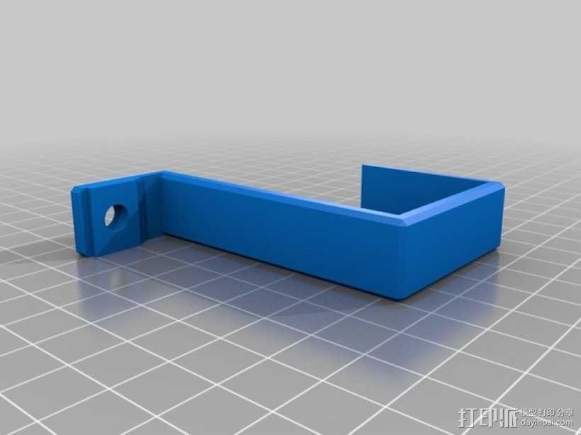 电源支架 3D模型  图3