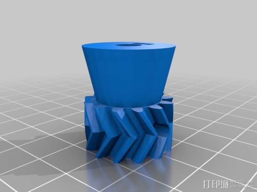 驱动齿轮 3D模型  图2