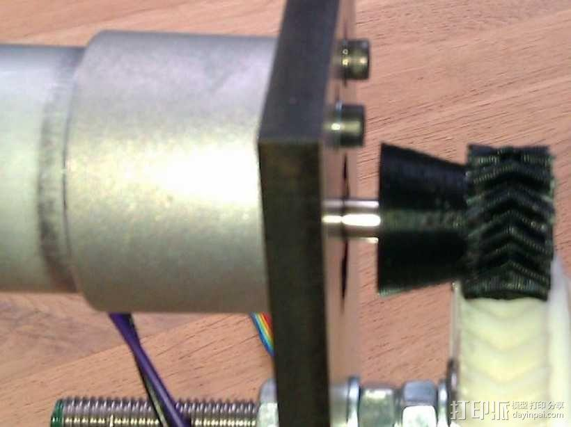 驱动齿轮 3D模型  图4