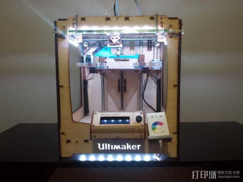 LED灯固定架 框架 3D模型  图1