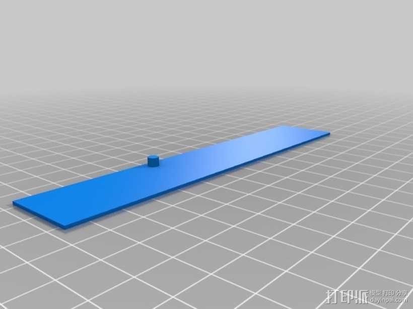 LED灯固定架 框架 3D模型  图9