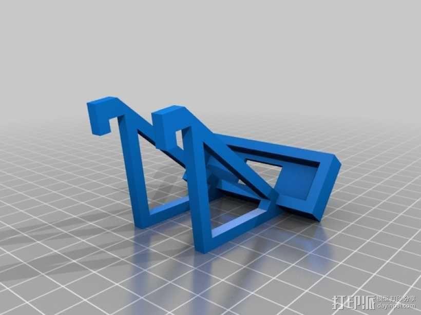 LED灯固定架 框架 3D模型  图10