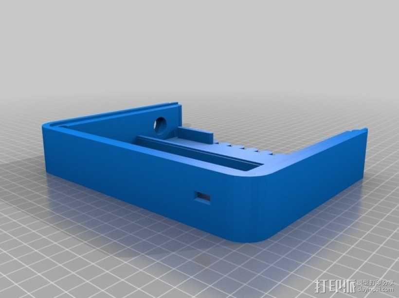Raspberry pi树莓派平板电脑保护壳 3D模型  图2