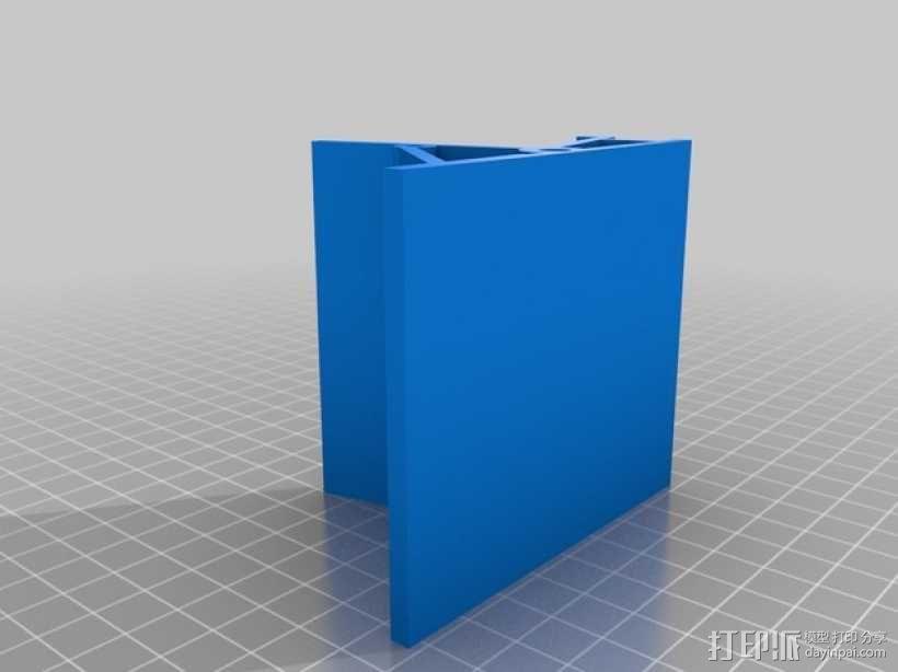 Raspberry pi树莓派平板电脑保护壳 3D模型  图3