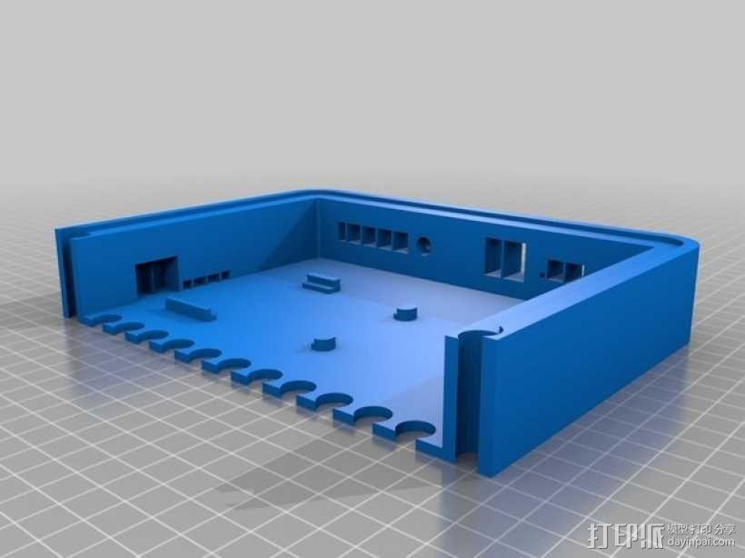Raspberry pi树莓派平板电脑保护壳 3D模型  图4