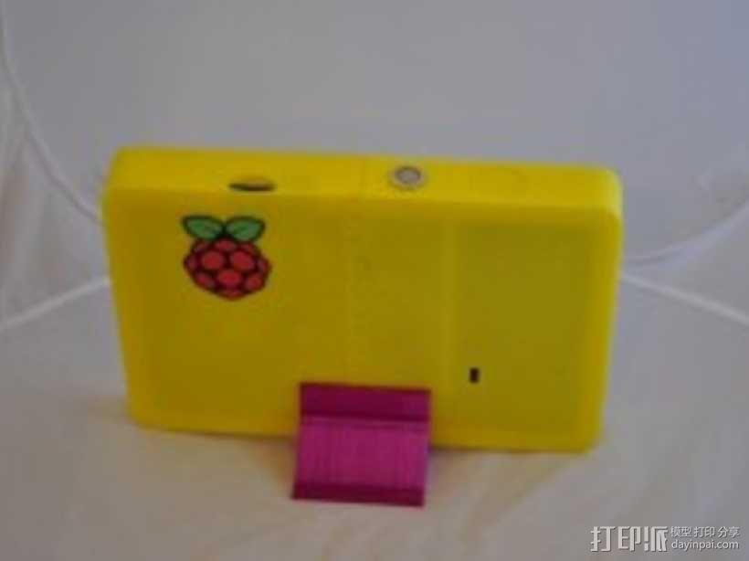 Raspberry pi树莓派平板电脑保护壳 3D模型  图5