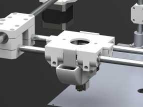 E3D喷头风扇 3D模型