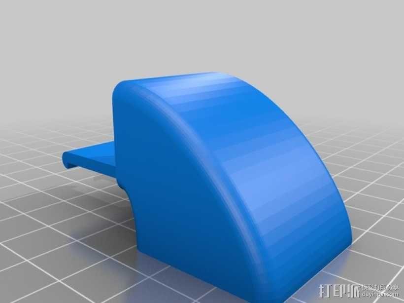 E3D喷头风扇 3D模型  图5