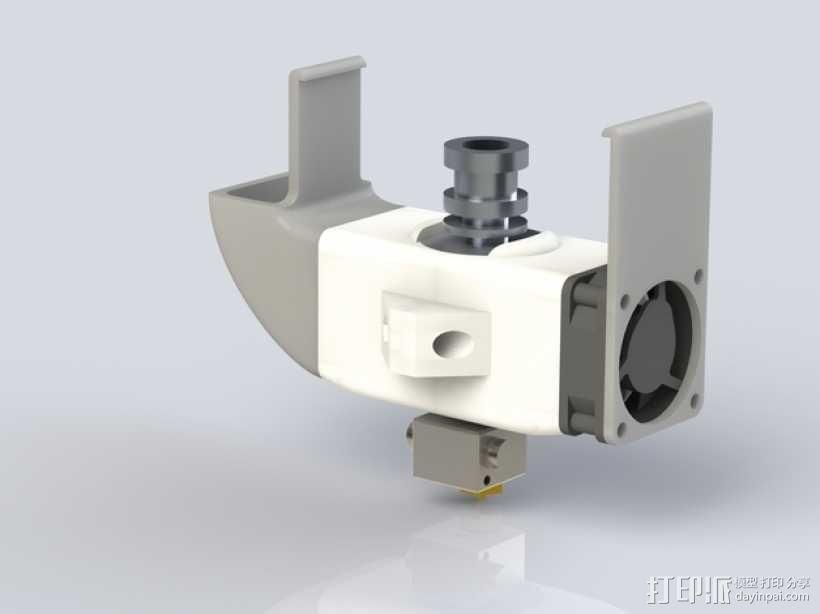 E3D喷头风扇 3D模型  图8
