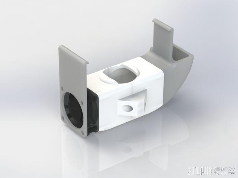 E3D喷头风扇 3D模型  图9