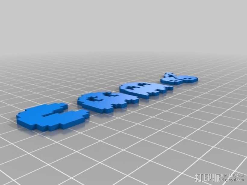 吃豆人 3D模型  图1