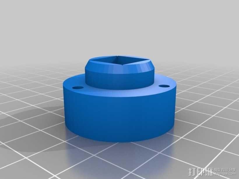 线轴支撑器 3D模型  图5