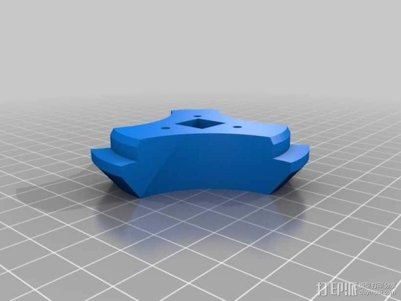 线轴支撑器 3D模型  图6