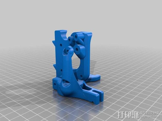 Printrbot Simple 的挤出机 3D模型  图2