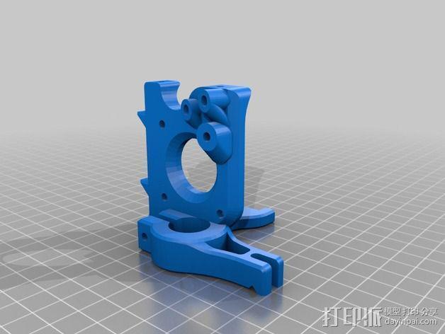 Printrbot Simple 的挤出机 3D模型  图4