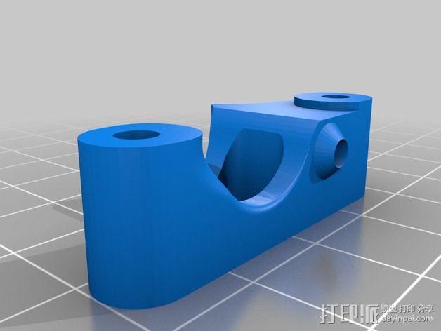 Printrbot Simple 的挤出机 3D模型  图6