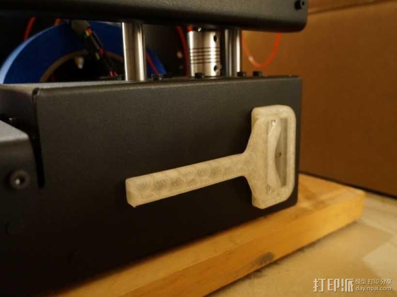 小刮刀 刀片手柄 3D模型  图4