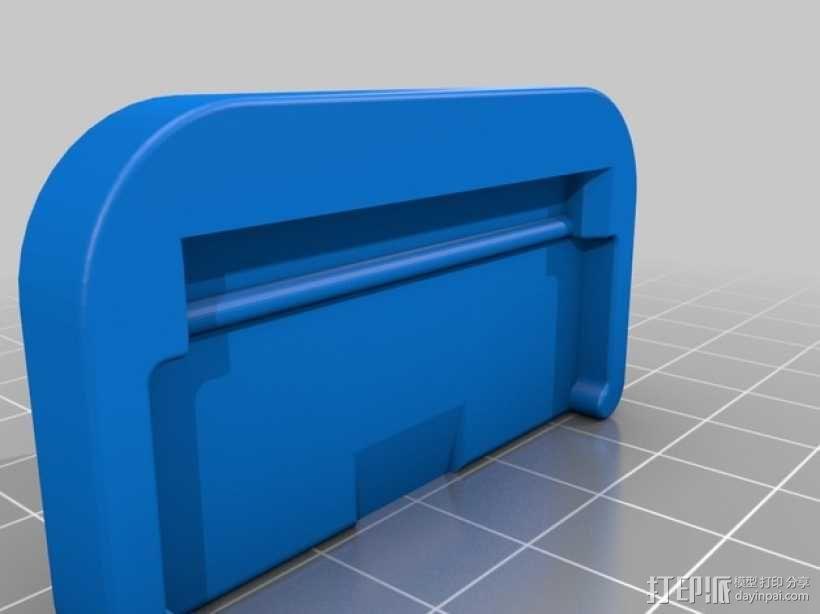 小刮刀 刀片手柄 3D模型  图5