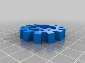 大众汽车钥匙扣 3D模型