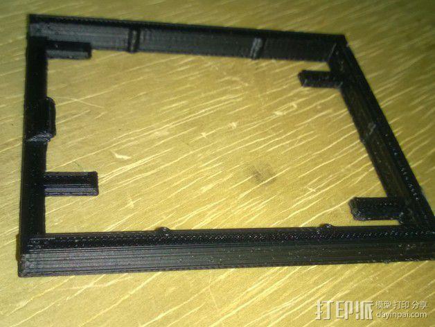 电路板支撑架 3D模型  图4