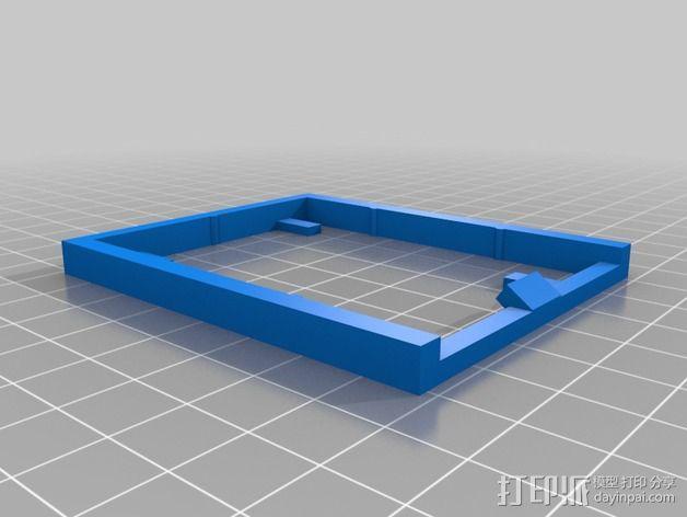 电路板支撑架 3D模型  图3