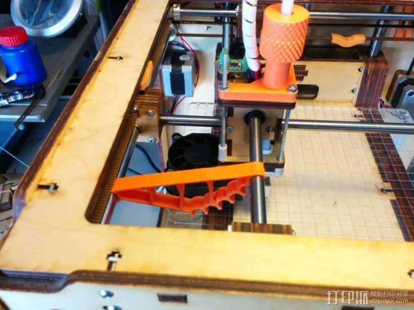 Protobox / Ultimaker 打印机轴调整器 3D模型  图1