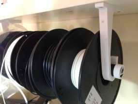 线轴支架 3D模型