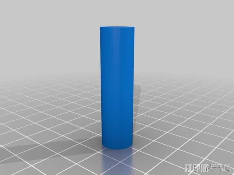 线轴支撑器 3D模型  图4