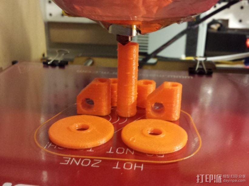线轴支撑器 3D模型  图8