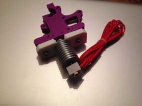 喷头适配器 3D模型