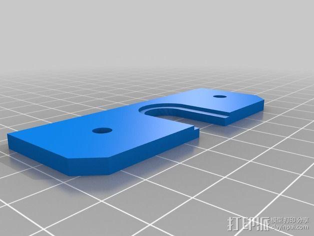 喷头适配器 3D模型  图4