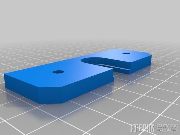 喷头适配器 3D模型  图3