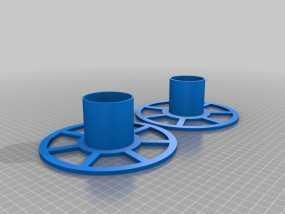 XYZ Da Vinci 打印机的线轴 3D模型