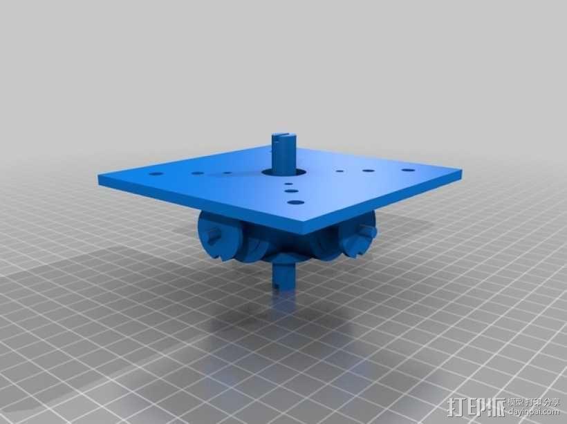 Glass Etching 3D打印机 3D模型  图2