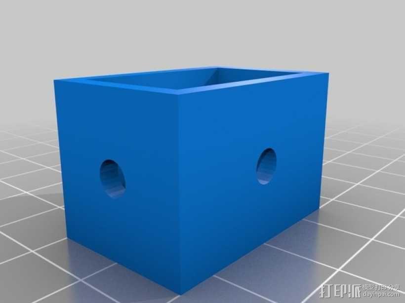 线材清洁器 滤尘器 3D模型  图2