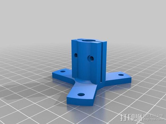 探针支架 3D模型  图2