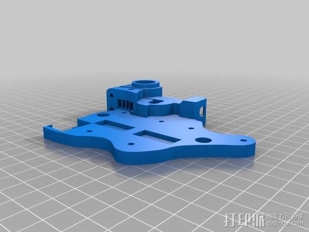 迷你挤出机 3D模型  图2