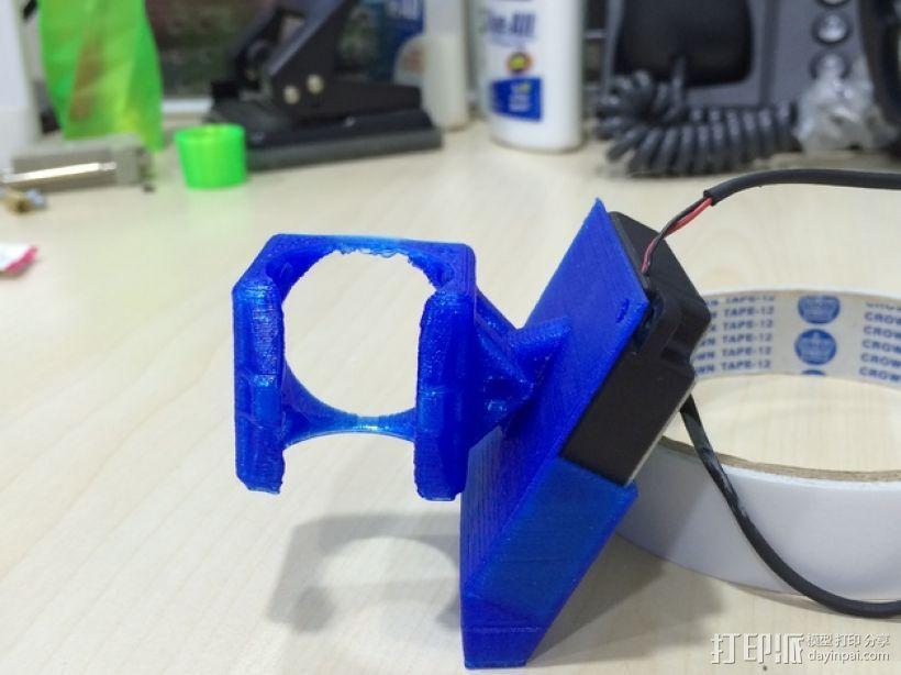 喷头散热风扇支架 3D模型  图8