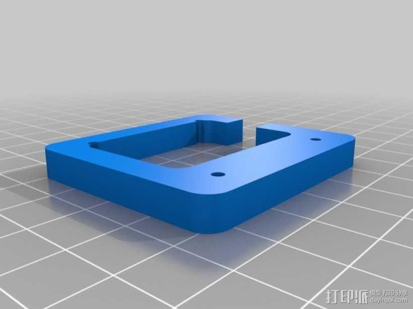 直线驱动挤出机套件 3D模型  图2