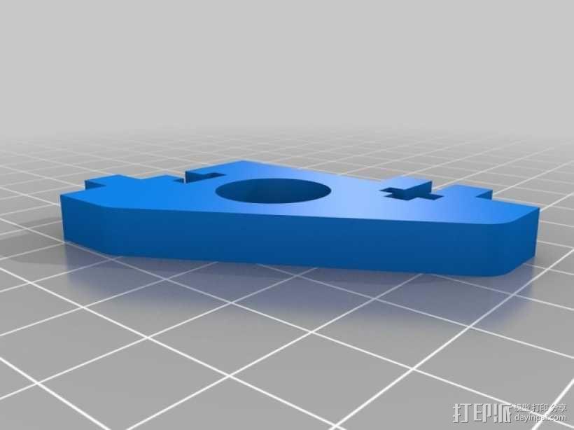 直线驱动挤出机套件 3D模型  图1