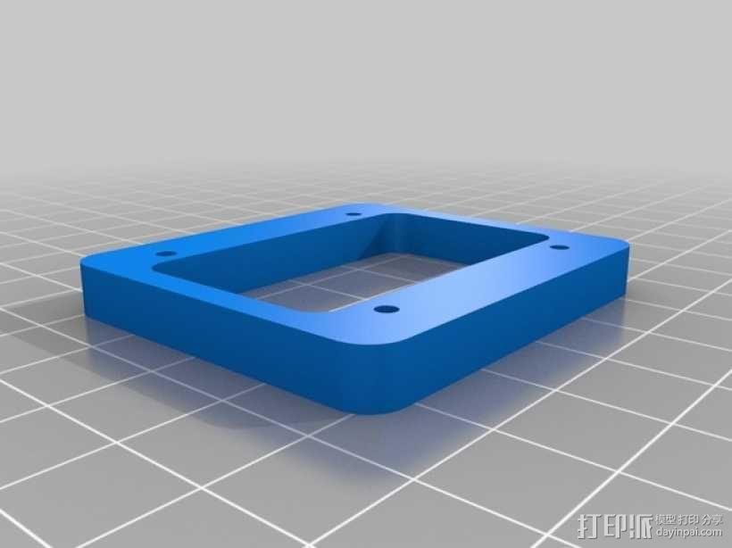直线驱动挤出机套件 3D模型  图5