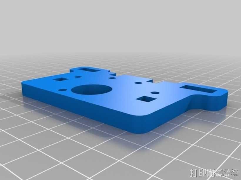直线驱动挤出机套件 3D模型  图6