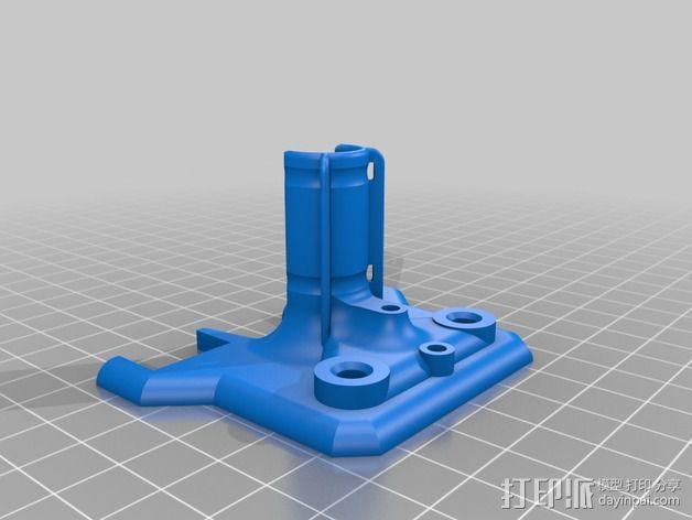 导线器 线材固定器 3D模型  图1