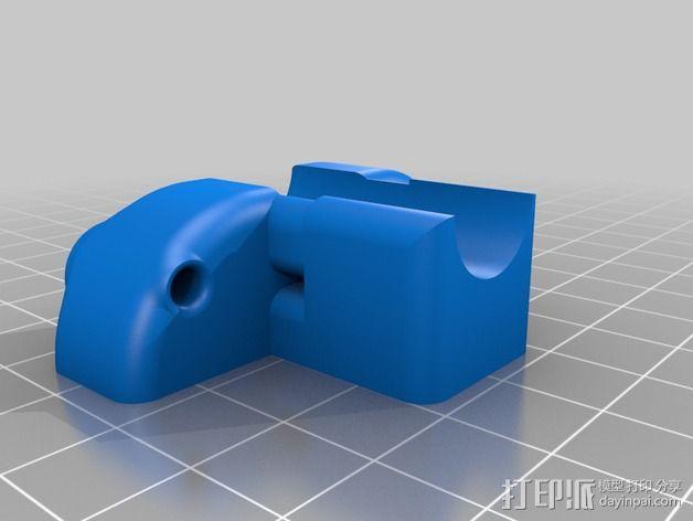 导线器 线材固定器 3D模型  图2