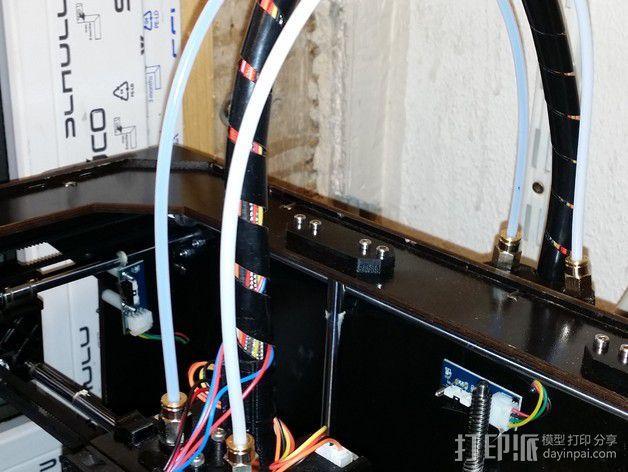 导线器 线材固定器 3D模型  图3