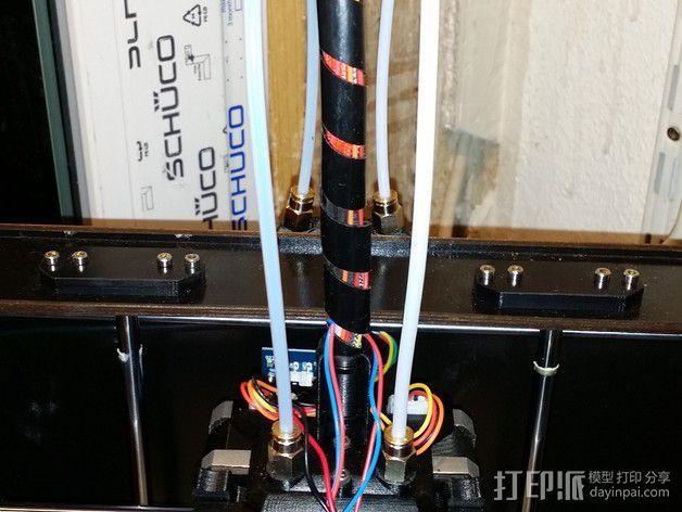 导线器 线材固定器 3D模型  图4
