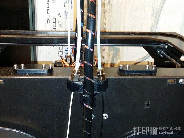 导线器 线材固定器 3D模型  图5