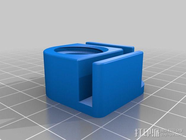 Duplicator 4X打印机的高度调节器 3D模型  图2