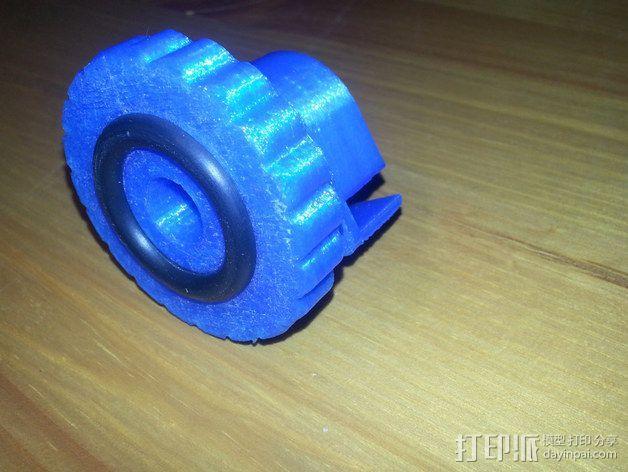 Duplicator 4X打印机的高度调节器 3D模型  图4