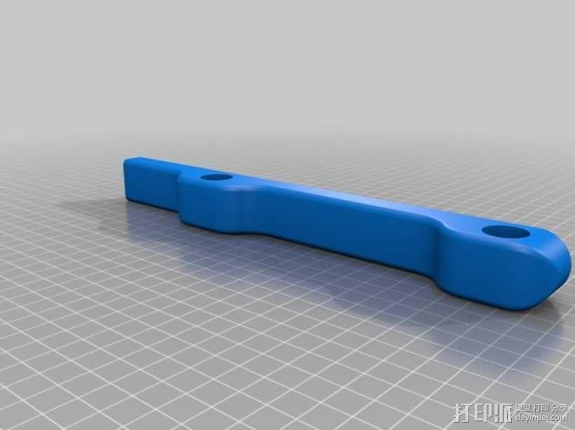 线材收纳架 3D模型  图2